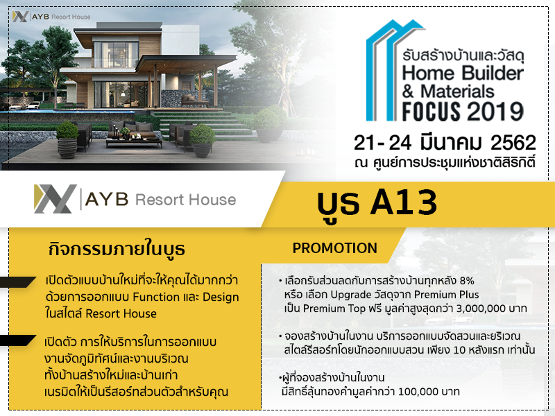 ABY@ Home Builder & Materials Focus 2018